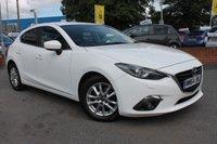 USED 2015 64 MAZDA 3 2.0 SE-L NAV 5d 118 BHP JUST ONE OWNER FROM NEW - EXCELLENT SERVICE HISTORY - LOW MILES