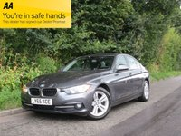 USED 2015 65 BMW 3 SERIES 2.0 320D SPORT 4d 188 BHP