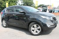 USED 2011 61 KIA SPORTAGE 1.7 CRDI 2 5d 114 BHP SERVICE HISTORY - EXCELLENT MPG - USUAL SPORTAGE 2 SPECIFICATION
