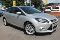 USED 2014 14 FORD FOCUS 1.6 ZETEC TDCI 5d 113 BHP SERVICE HISTORY - 2 FORMER KEEPERS - £20 ROAD TAX