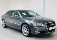 USED 2008 08 AUDI A8 3.0 TDI QUATTRO SPORT 4d AUTO 230 BHP LOW MILES + SERVICE HISTORY + ONLY 2 OWNERS + SAT NAV + LEATHER