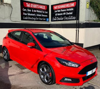 2015 FORD FOCUS ST-3 2.0 TDCI 5DR 185 BHP, SAT NAV, ONLY £20 ROAD TAX. £14250.00