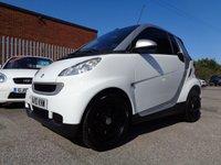 2010 SMART FORTWO CABRIO 0.8 PULSE CDI 2d AUTO 54 BHP £2495.00