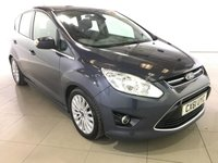 USED 2011 61 FORD C-MAX 1.6 TITANIUM TDCI 5d 114 BHP BLUETOOTH | ALLOYS | AIR CON |