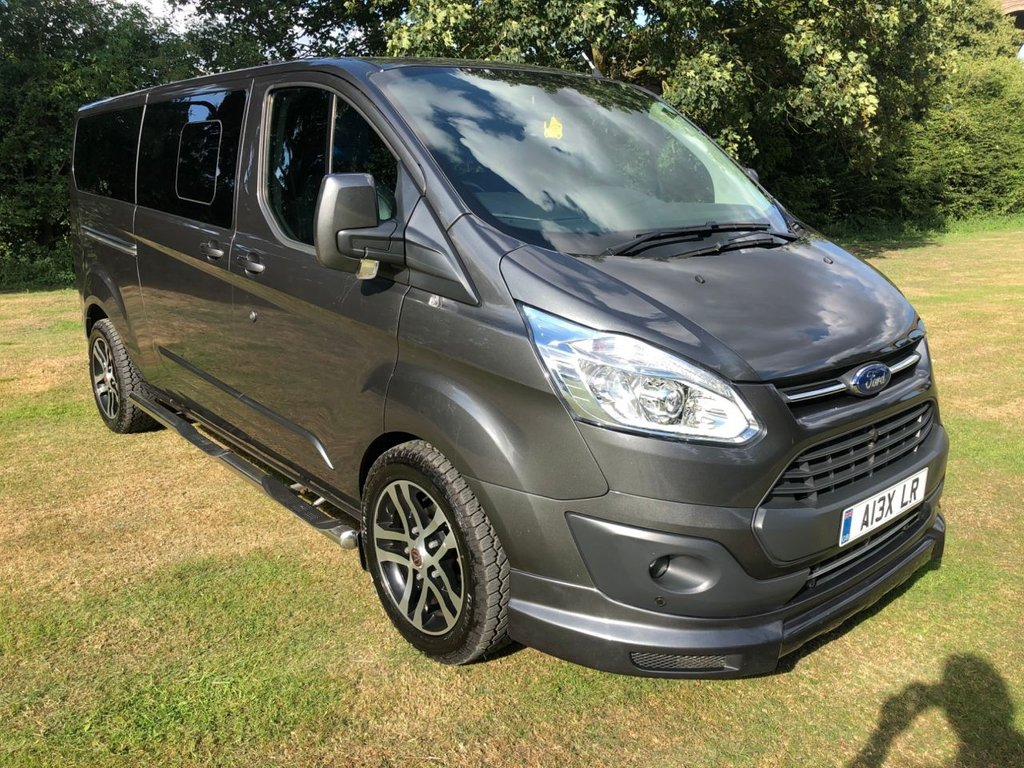 USED 2017 FORD TRANSIT CAMPERVAN CONVERSION 2.0DCIV T310 L2H1 CUSTOM LIMITED (AUTO)(170 BHP)