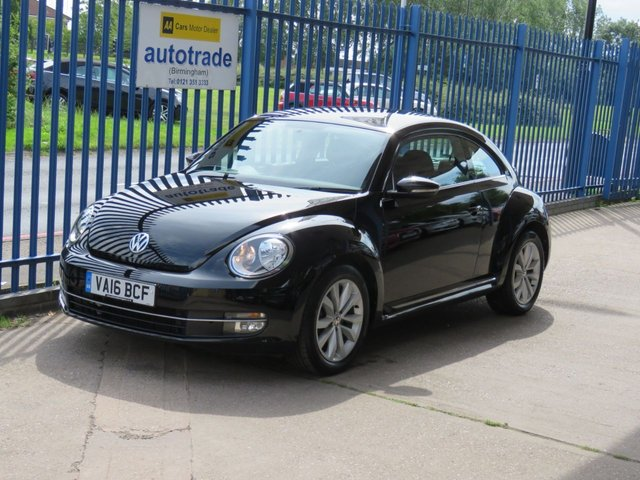 USED 2016 16 VOLKSWAGEN BEETLE 2.0 DESIGN TDI BLUEMOTION TECHNOLOGY 3dr DAB Bluetooth & audio Alloys Low Miles,Diesel