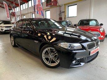 2015 BMW 5 SERIES 2.0 520D M SPORT 4d 188 BHP £15495.00