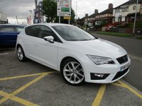 USED 2015 65 SEAT LEON 2.0 FR TDI 5d 168 BHP (TECHNOLOGY PACK) 1 Owner & Full Service History