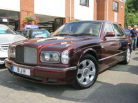USED 2002 02 BENTLEY ARNAGE 6.8 RED LABEL 4d AUTO 401 BHP