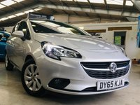 2016 VAUXHALL CORSA 1.4 DESIGN 5 DOOR only 22000 miles with FSH £6495.00