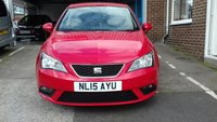 USED 2015 15 SEAT IBIZA 1.4 TOCA 5d 85 BHP ONLY 35961 MILES FROM NEW. CHEAP TO RUN, LOW CO2 EMISSIONS AND EXCELLENT FUEL ECONOMY! GOOD SPECIFICATION INCLUDING NAV SYSTEM, AIR CONDITIONING, FULL SERVICE HISTORY AND ONE PREVIOUS KEEPER, MEETS ALL LARGE CITY EMISSION STANDARDS,