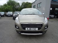 USED 2016 16 PEUGEOT 3008 1.6 E-HDI ACTIVE 5d AUTO 115 BHP