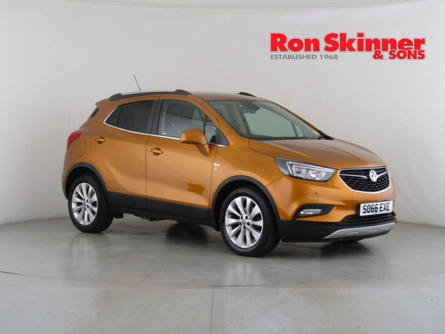 View our 2017 66 VAUXHALL MOKKA X 1.4 ELITE S/S 5d 138 BHP