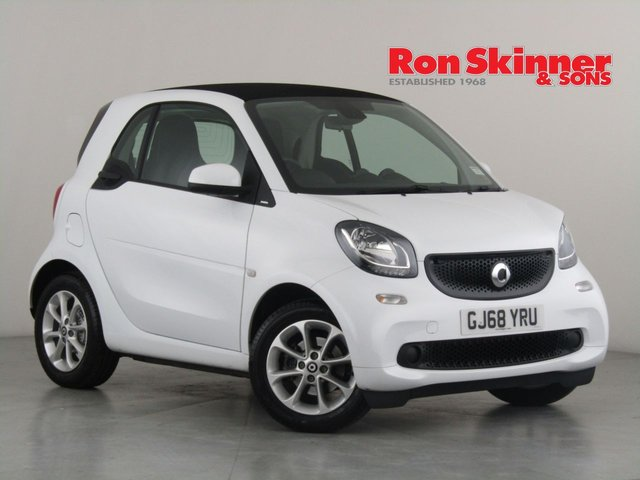 View our 2018 68 SMART FORTWO COUPE 1.0 PASSION 2d AUTO 71 BHP