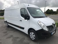 2016 RENAULT MASTER LM35 BUSINESS PLUS 2.3 DCi LWB Medium Roof 125 6-SPEED £11995.00
