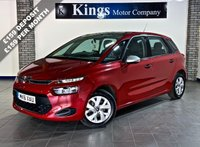 USED 2016 16 CITROEN C4 PICASSO 1.6 BLUEHDI VTR 5dr  £0 TAX, 74.3 MPG! 1 OWNER, FSH , SAVE OVER £11,000 On NEW !!!