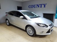 USED 2013 13 FORD FOCUS 1.0 ZETEC 5d 124 BHP * FULL HISTORY * 12 MONTH MOT *