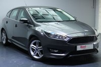 """USED 2015 15 FORD FOCUS 1.0 ZETEC S 5d 124 BHP 17""""ALLOYS+NAV+FULL MANUFACTURER SERVICE HISTORY+BLUETOOTH+SPORTS SUSPENSION"""
