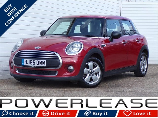 USED 2015 65 MINI HATCH ONE 1.5 ONE D 5d 94 BHP PEPPER II DAB FSH EXCITEPACK