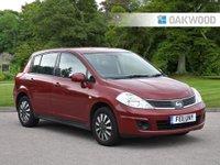 2011 NISSAN TIIDA 1.6 IMPORT 5d 109 BHP £3795.00