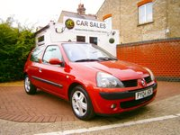 USED 2004 04 RENAULT CLIO 1.1 DYNAMIQUE 16V 3d 75 BHP
