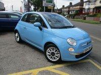 2014 FIAT 500 1.2 LOUNGE 3d 69 BHP £5466.00