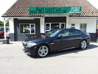 2013 BMW 5 SERIES 2.0 520D M SPORT 4d AUTO 181 BHP £11895.00