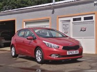 "USED 2013 63 KIA CEED 1.6 2 ECODYNAMICS 5d 133 BHP 16"" Alloys, 5 Service Stamps, Bluetooth"