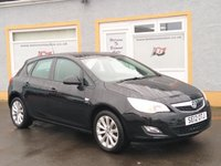 """USED 2012 12 VAUXHALL ASTRA 1.4 ACTIVE 5d 98 BHP Bluetooth, 1/2 leather, 7 Service Stamps, Cruise Control, 17"""" Alloys"""