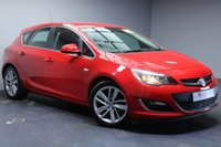 """USED 2014 64 VAUXHALL ASTRA 2.0 SRI CDTI S/S 5d 163 BHP 18""""ALLOYS+FULL SERVICE HISTORY+CRUISE CONTROL+TINTED GLASS+SPORTS SUSPENSION"""