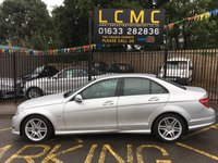 USED 2010 60 MERCEDES-BENZ C CLASS 2.1 C250 CDI BLUEEFFICIENCY SPORT 4d 204 BHP STUNNING METALLIC IRIDIUM SILVER, HALF BLACK CLOTH BLACK ARTICO LEATHER, TWIN SPOKE AMG ALLOY WHEELS, AIR CON, FRONT AND REAR PARKING SENSORS, CRUISE CONTROL, BLUETOOTH, LAST SERVICED 22/05/2019 MOT 26/05/2020