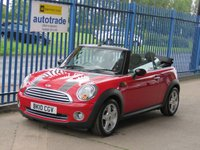 2010 MINI CONVERTIBLE 1.6 COOPER 2dr 1/2 Leather Alloys Rear park £4795.00
