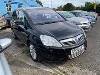 USED 2010 59 VAUXHALL ZAFIRA 1.9 ACTIVE PLUS CDTI 5d 118 BHP ONE OWNER FROM NEW / SERVICE HISTORY