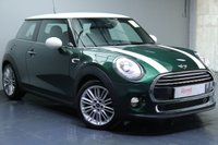 """USED 2014 14 MINI HATCH COOPER 1.5 COOPER D 3d 114 BHP 17""""ALLOYS+1/2 LEATHER TRIM+BLUETOOTH+TINTED GLASS"""