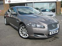 USED 2011 61 JAGUAR XF 3.0 V6 PREMIUM LUXURY 4d AUTO 240 BHP Full Service history. Navigation. Heated Seats. Bluetooth. Cruise Control. Xenon headlights. Electric seats with memory