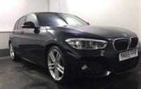 2015 BMW 1 SERIES 1.5 118I M SPORT 5d 134 BHP £11995.00
