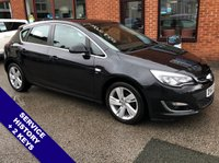 """USED 2013 63 VAUXHALL ASTRA 1.6 SRI 5DOOR AUTO 115 BHP AUX Socket           :           Cruise Control / Speed Limiter           :            Air Conditioning   Hands Free Voice Control   :   17"""" Alloy Wheels   :   2 Keys   :   Service History"""
