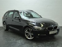 USED 2013 13 BMW 3 SERIES 2.0 318D SPORT TOURING 5d 141 BHP FULL BMW HISTORY + BLUETOOTH + AUX & USB + CRUISE CONTROL
