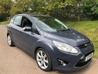 USED 2011 11 FORD C-MAX 1.6 TITANIUM 5d 148 BHP **LOW MILES**LONG MOT**IDEAL FAMILY CAR**