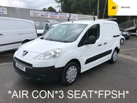 USED 2012 12 PEUGEOT PARTNER 1.6 HDI PROFESSIONAL L1 625 *3 SEAT*AIR CON*