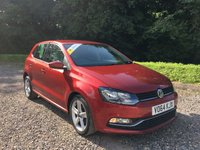 2014 VOLKSWAGEN POLO 1.4 SEL TDI BLUEMOTION 5d 89 BHP £6485.00