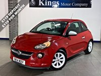 USED 2014 14 VAUXHALL ADAM 1.2 JAM 3dr  LOW MILES , Low Insurance Group 3, Drive Away SAME DAY!! STUNNING