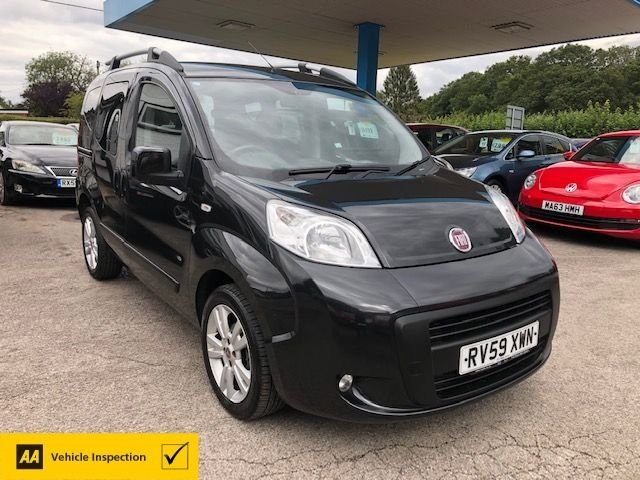 USED 2009 59 FIAT QUBO 1.2 MULTIJET DYNAMIC 5d 75 BHP NEED FINANCE? WE CAN HELP!