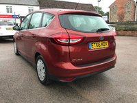 USED 2017 66 FORD C-MAX 1.5 TDCI ZETEC ECONETIC 5d WITH TOUCH SCREEN SAT NAV NO DEPOSIT  PCP/HP FINANCE ARRANGED, APPLY HERE NOW