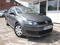 USED 2013 63 VOLKSWAGEN POLO 1.2 S A/C 5d 60 BHP