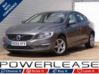 USED 2017 66 VOLVO S60 2.0 D3 BUSINESS EDITION 4d 148 BHP FULL VOLVO HISTORY 20POUNDTAX