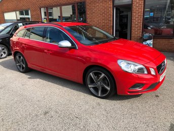 2011 VOLVO V60 2.0 D3 R-DESIGN 5DOOR 161 BHP £6250.00