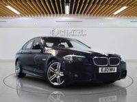 "USED 2013 13 BMW 5 SERIES 2.0 520D M SPORT 4d AUTO 181 BHP SAT NAV | LEATHER | 19"" DOUBLE SPOKE ALLOYS"