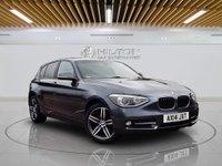 "USED 2014 14 BMW 1 SERIES 2.0 118D SPORT 5d AUTO 141 BHP 17""ALLOYS | XENON PACK - HEADLIGHTH"