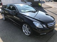 2013 MERCEDES-BENZ E CLASS 2.1 E250 CDI BLUEEFFICIENCY S/S SPORT 2d AUTO 204 BHP £9995.00